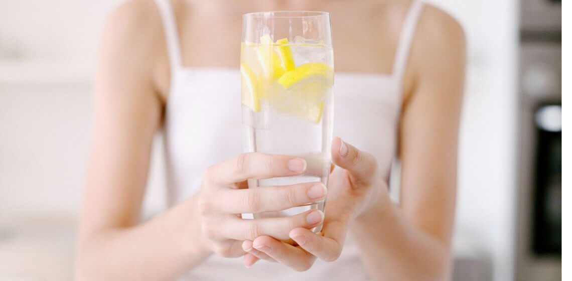 Zitrone Wasser Hausmittelchen Blog Tipps Hacks