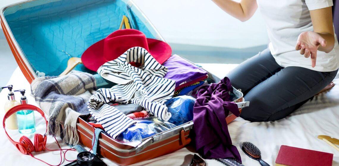 Koffer Packen Sommer Reisen Hack Tipp Haushalt Blog Hausmittelchen