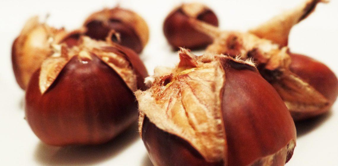 Maronen Maroni Rösten Lebensmittel Food Hack Tipp Haushalt Blog Hausmittelchen
