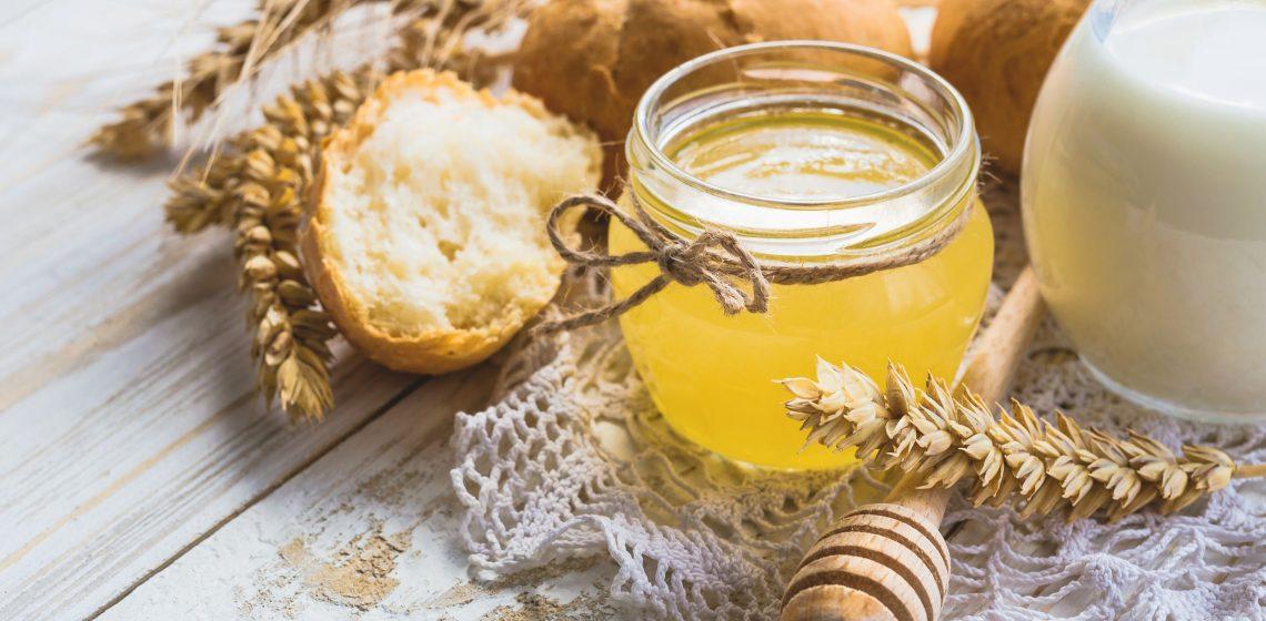 Honig Milch Getränk Lebensmittel Food Hack Tipp Haushalt Blog Hausmittelchen